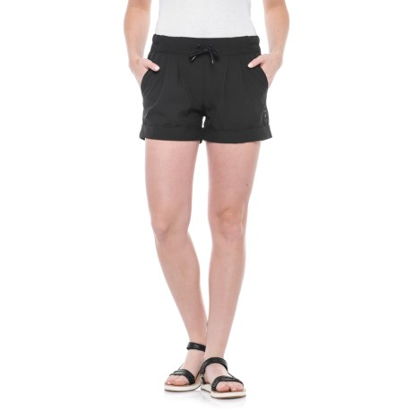 Kavu Tepic Drawstring Shorts (For Women) in Black