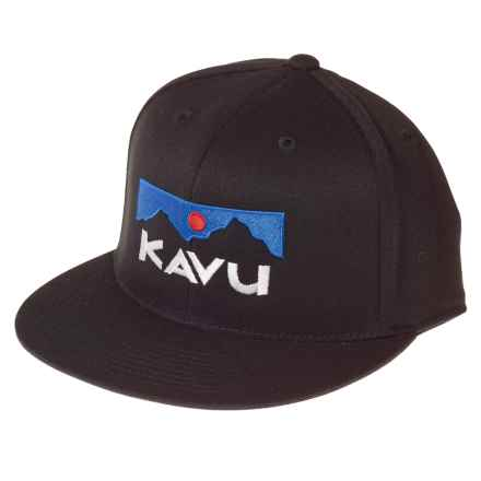 Kavu The KFH Trucker Hat (For Men and Women) in Black - Closeouts