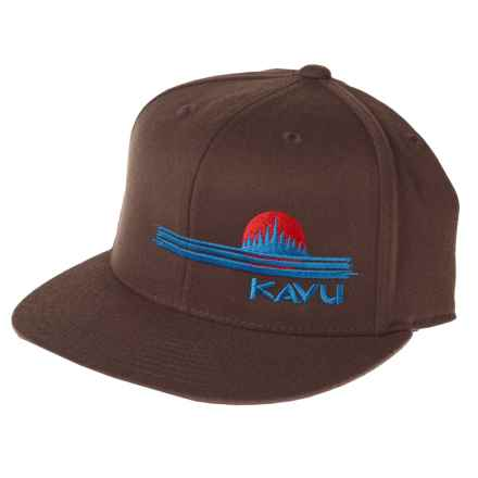 Kavu The KFH Trucker Hat (For Men and Women) in Chocolate - Closeouts