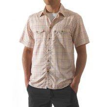 Kavu The Oscar Shirt - Short Sleeve (For Men) in Tangerine - Closeouts