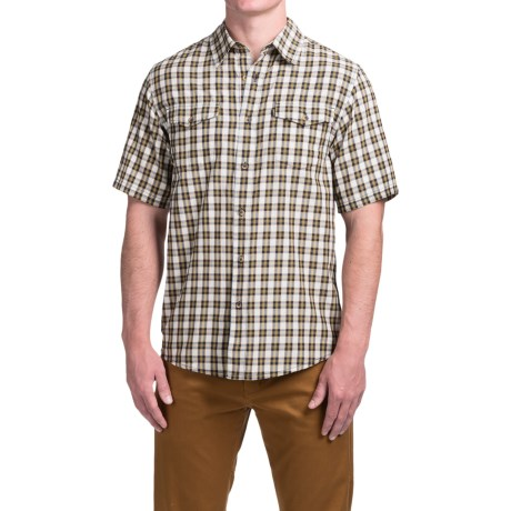 Kavu The Oscar Shirt - Short Sleeve (For Men) in West Coast