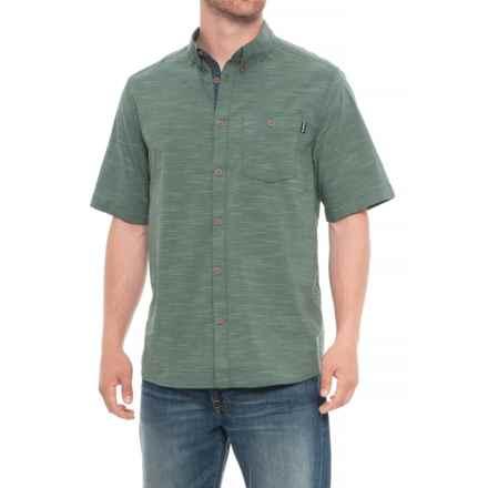 Kavu Welland Shirt - UPS 30+, Short Sleeve (For Men) in Mallard - Closeouts