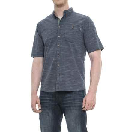 Kavu Welland Shirt - UPS 30+, Short Sleeve (For Men) in Navy - Closeouts