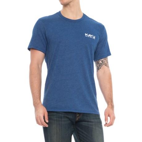Kavu Wildlife Division T-Shirt - Short Sleeve (For Men) in Royal