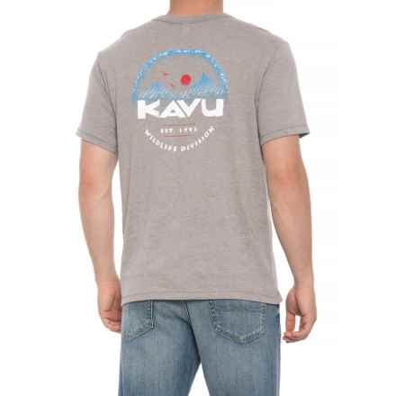 Kavu Wildlife Division T-Shirt - Short Sleeve (For Men) in Smoke - Closeouts