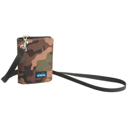Kavu Winston Wallet (For Women) in Camo - Closeouts