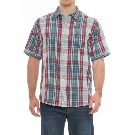Kavu Work It Reversible Shirt - Short Sleeve (For Men) in Heritage - Closeouts