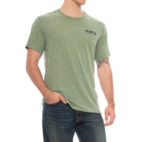 Kavu You Are Here T-Shirt - Short Sleeve (For Men) in Pine