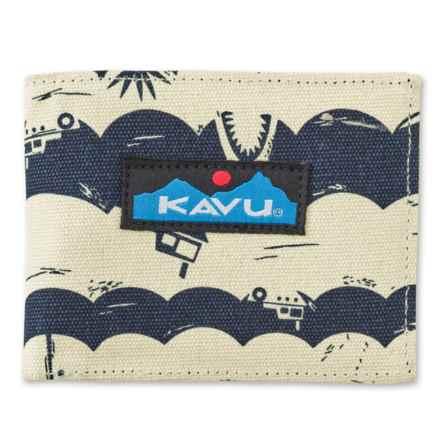 Kavu Yukon Wallet (For Women) in Shark Bait - Closeouts