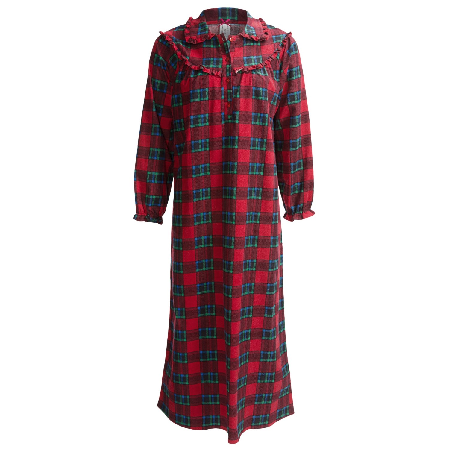 Women's Cotton Flannel Nightgown - Long Flannel Gowns for Women, Blue $ 49 99 Prime. out of 5 stars 6. Ekouaer. Women's Flannel Nightgowns Comfy Long Sleeve Women's Loungewear Plus Size $ 19 out of 5 stars 2. SYTX-women clothes. SYTX Womens Thicken Long Sleeve Print Fleece Flannel Warm Long Nightgown Homewwar.