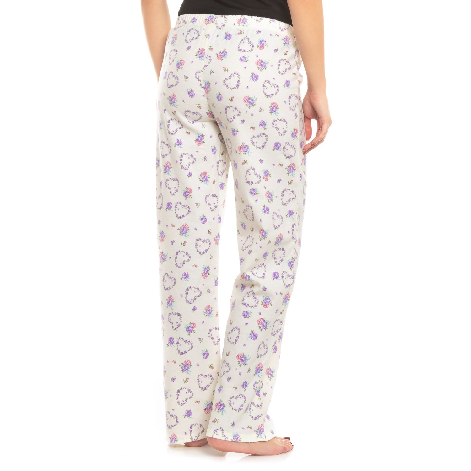 163a9a88b45 KayAnna Printed Flannel Pajama Bottoms (For Women) - Save 56%