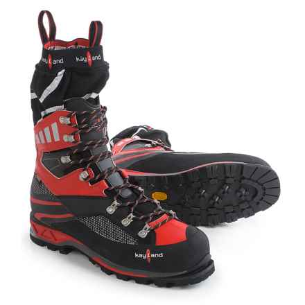 Kayland Apex Plus Gore-Tex® Mountaineering Boots - Waterproof (For Men) in Black/Red - Closeouts