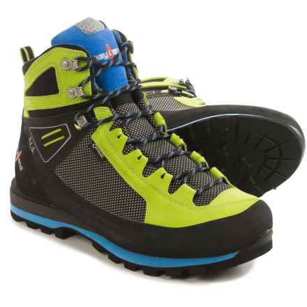 Kayland Cross Mountain Gore-Tex® Mountaineering Boots - Waterproof (For Men) in Lime - Closeouts