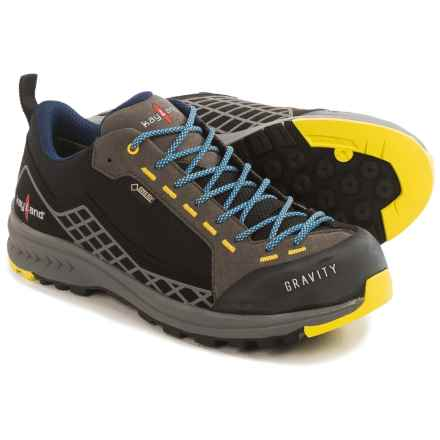 Kayland Gravity Gore-Tex® Hiking Shoes - Waterproof (For Men) in Black/Blue - Closeouts