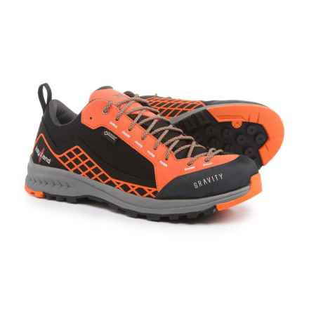 Kayland Gravity Gore-Tex® Hiking Shoes - Waterproof (For Men) in Black/Orange - Closeouts