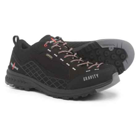 Kayland Gravity Gore-Tex® Hiking Shoes - Waterproof (For Men) in Black - Closeouts