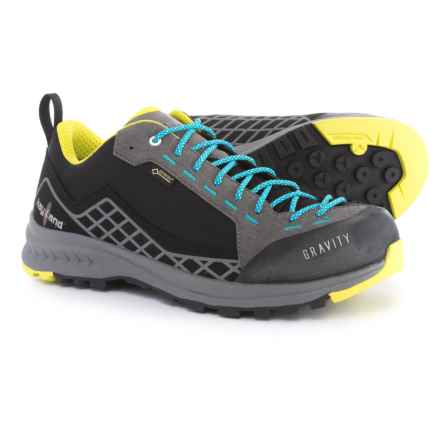 Kayland Gravity Gore-Tex® Hiking Shoes - Waterproof (For Women) in Black/Azure - Closeouts