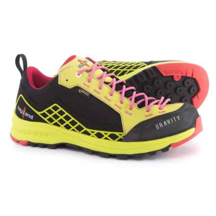 Kayland Gravity Gore-Tex® Hiking Shoes - Waterproof (For Women) in Black/Lime - Closeouts