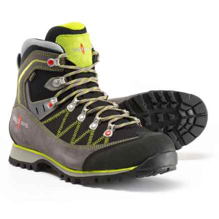 Kayland Plume Micro Gore-Tex® Hiking Boots - Waterproof (For Men) in Grey/Lime - Closeouts