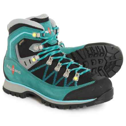 Kayland Plume Micro Gore-Tex® Hiking Boots - Waterproof (For Women) in Green - Closeouts
