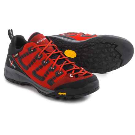 Kayland Raptor K Low Gore-Tex® Hiking Shoes - Waterproof (For Men) in Red Black - Closeouts