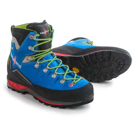 Kayland Super Rock Gore-Tex® Mountaineering Boots - Waterproof (For Men) in Cobalt Lime - Closeouts