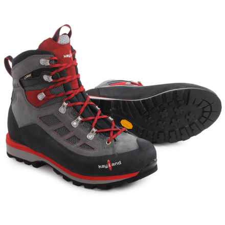 Kayland Titan Ferrata Gore-Tex® Hiking Boots - Waterproof (For Men) in Piombo Red - Closeouts