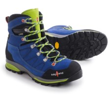 Kayland Titan Rock Gore-Tex® Hiking Boots - Waterproof (For Men) in Cobalt Lime - Closeouts