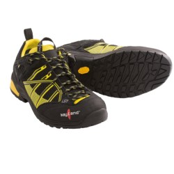 Kayland Track Gore-Tex® Hiking Shoes - Waterproof (For Men and Women) in Black/Yellow