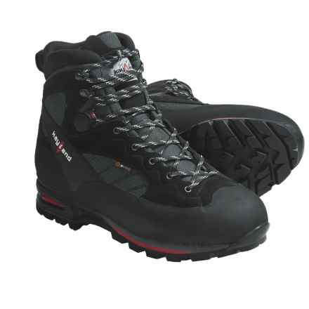 Kayland Vertigo Dual Hiking Boots - Waterproof (For Men) in Black - Closeouts