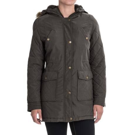 KC Collections Quilted Sleeves Jacket (For Women)