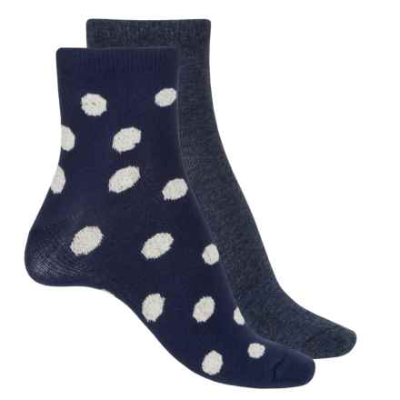 Keds Anklet Socks - 2-Pack, Ankle (For Women) in Peacoat Asst - Closeouts
