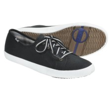 Keds Celeb Sneakers - Canvas (For Women) in Black - Closeouts