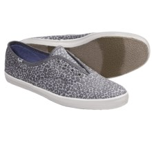 Keds Champion Animal Print Sneakers - Laceless (For Women) in Graphite - Closeouts
