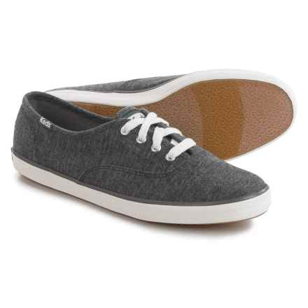 Keds Champion Jersey Sneakers (For Women) in Graphite Grey - Closeouts