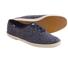 Keds Champion Seltzer Dot Sneakers (For Women) in Navy - Closeouts