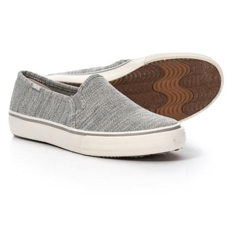 f019114cfcf Keds Double Decker Twill Stripe Jersey Sneakers - Slip-Ons (For Women) in