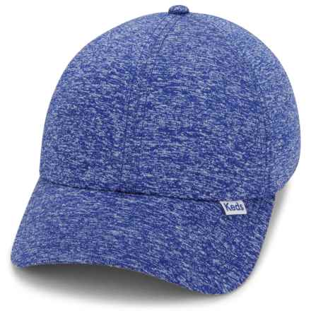 Keds Heathered Baseball Cap (For Women) in Keds Blue - Closeouts