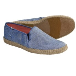 Keds Jute Shoes (For Women) in Blue Metallic