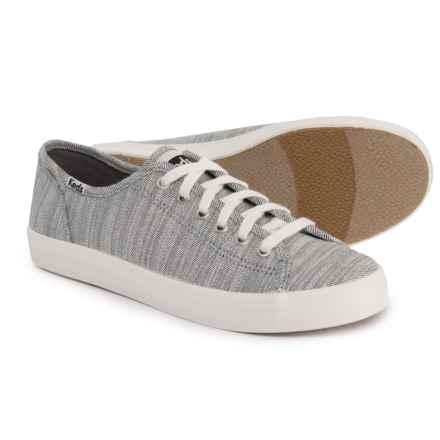 Keds Kickstart Denim Twill Sneakers (For Women) in White - Closeouts