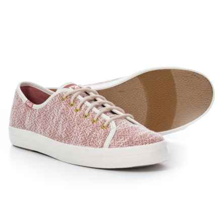 Keds Kickstart Hygge Knit Sneakers (For Women) in Cream/Rose - Closeouts