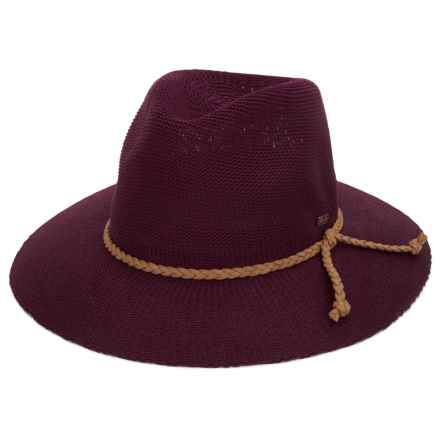 Keds Knit Fedora (For Women) in Red Mahogany - Closeouts