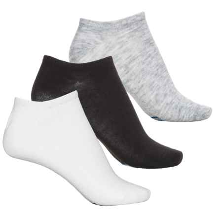 Keds Low-Show Socks - 6-Pack, Below the Ankle (For Women) in Grey Heather Assorted - Closeouts