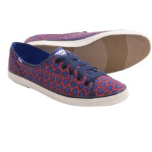 Keds Rally Peacock Sneakers (For Women) in Red/Blue - Closeouts
