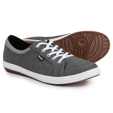 Keds Tour Chambray Sneakers (For Women) in Black