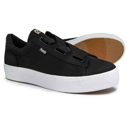 Keds Triple Cross Jersey Sneakers (For Women) in Black