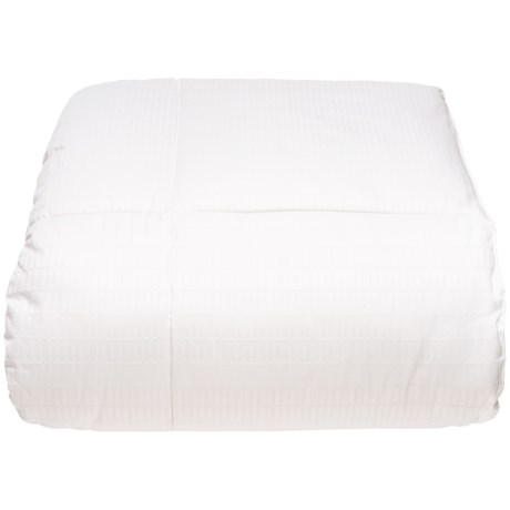 Keeco Hotel Down Alternative Comforter - Full/Queen, 400 TC in White