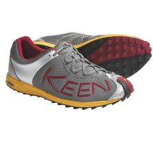 Keen A86 TR Trail Running Shoes (For Men) in Gargoyle/Chili Pepper - Closeouts