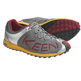 Keen A86 TR Trail Running Shoes (For Men) in Gargoyle/Chili Pepper