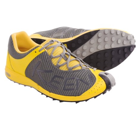 Keen A86 TR Trail Running Shoes (For Men) in Gargoyle/Super Lemon